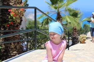 Moja Amelka na wakacjach na Ibizie