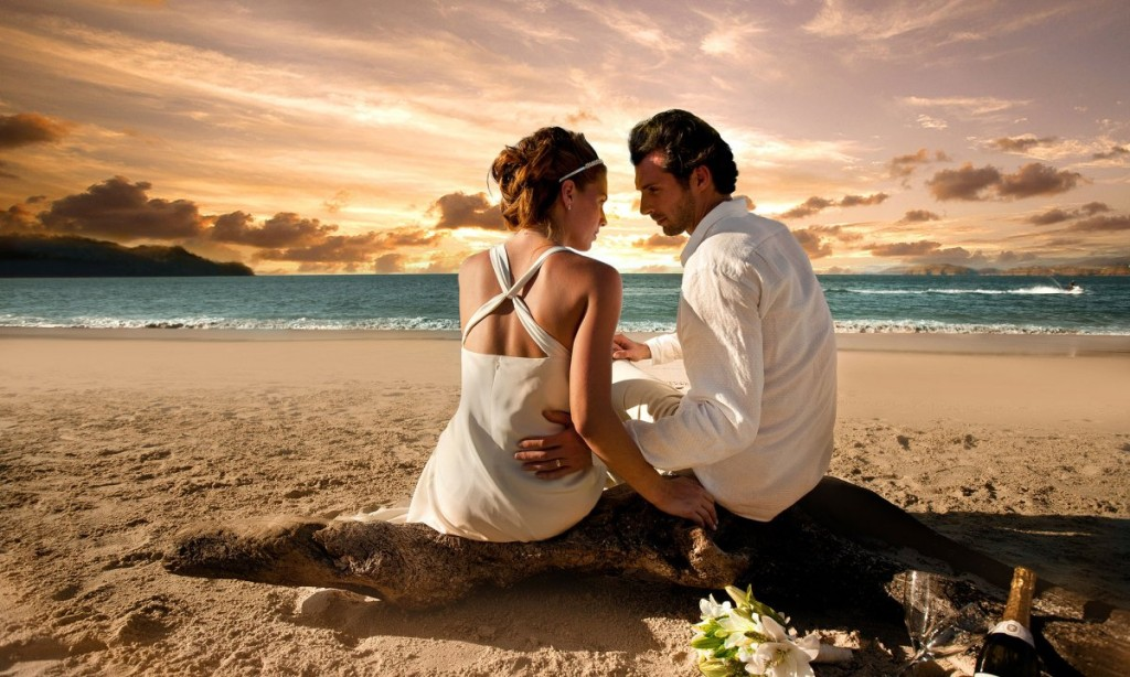 Beach-Wedding-Resort-sunset