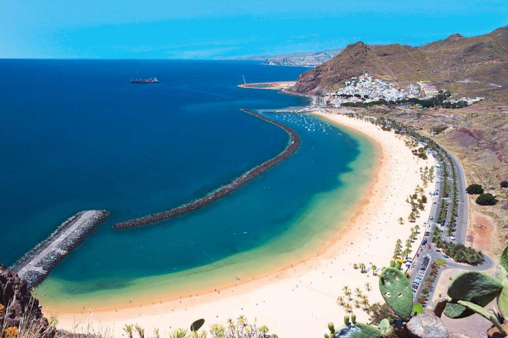 Tenerife Playa de Las Teresitas