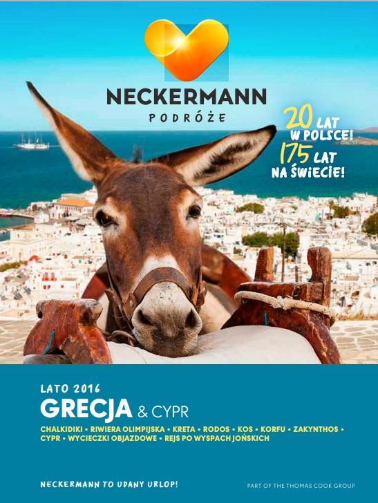NECKERMANN LATO 2016 GRECJA I CYPR