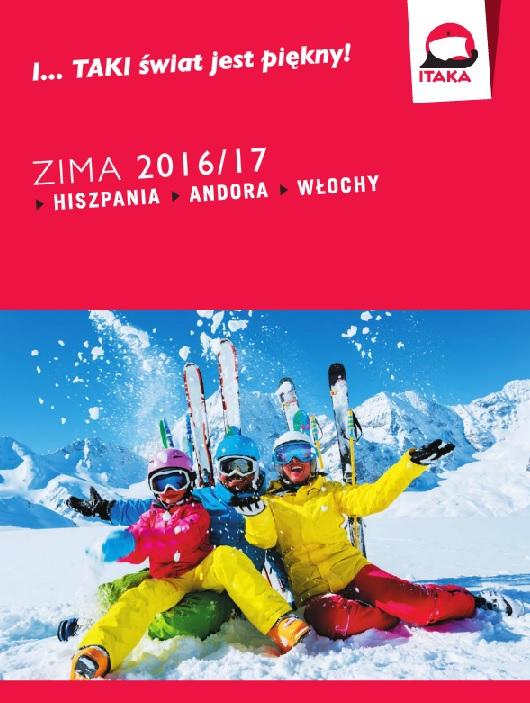 ITAKA ZIMA 2016/2017 NARTY